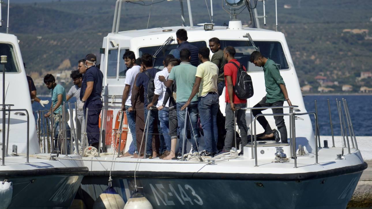 Ναυτικό δυστύχημα με δύο νεκρούς στις Οινούσσες μετά από ανατροπή λέμβου
