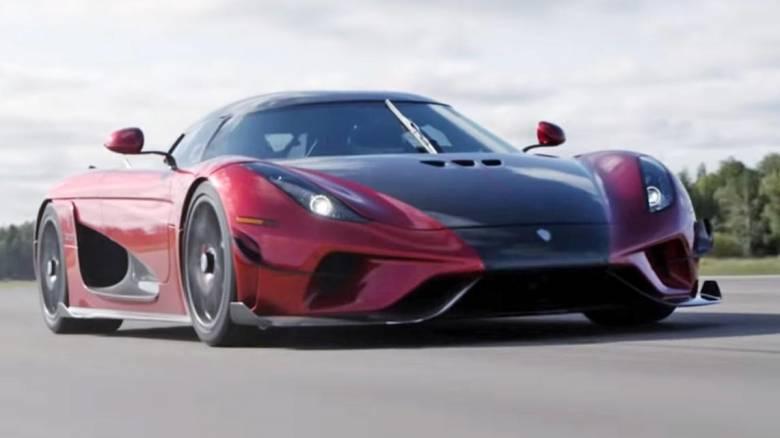 Σε 31,49 δεύτερα το Koenigsegg Regera έχει φτάσει τα 400 χλμ./ ώρα και έχει ακινητοποιηθεί και πάλι