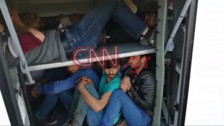Βίντεο – ντοκουμέντο: Διακίνηση ανθρώπινων ψυχών σε πορτμπαγκάζ λεωφορείου