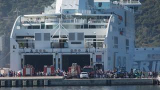 Φωτιά σε πλοίο στην Ηγουμενίτσα: Τρεις άνθρωποι τραυματίστηκαν ελαφρά