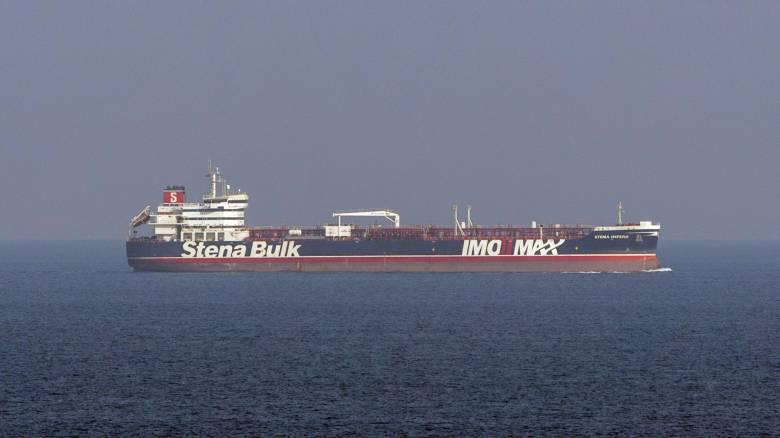 Στο Ντουμπάι έφτασε το βρετανικό δεξαμενόπλοιο Stena Impero