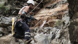 Όλυμπος: Τραυματισμός ορειβάτη που έπεσε σε δύσβατο σημείο