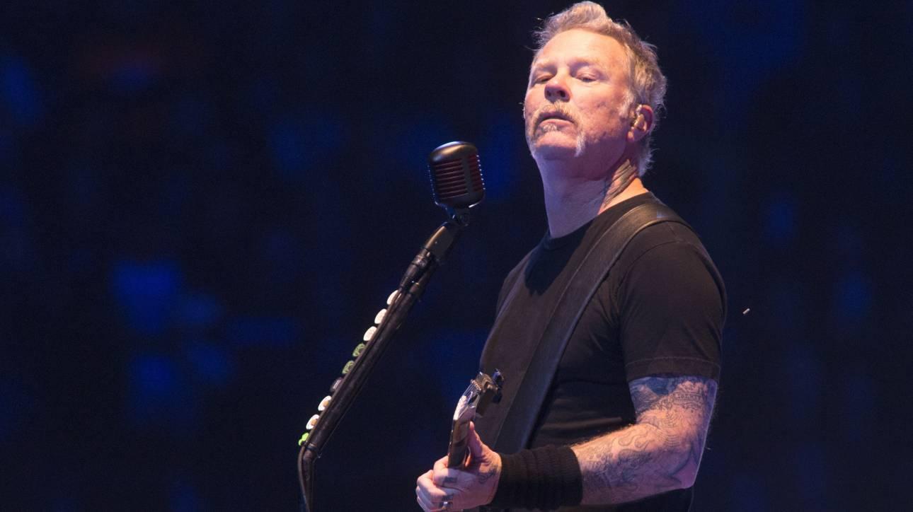 James Hetfield: Σε κέντρο αποτοξίνωσης ο frontman των Metallica - Ακυρώνονται οι συναυλίες