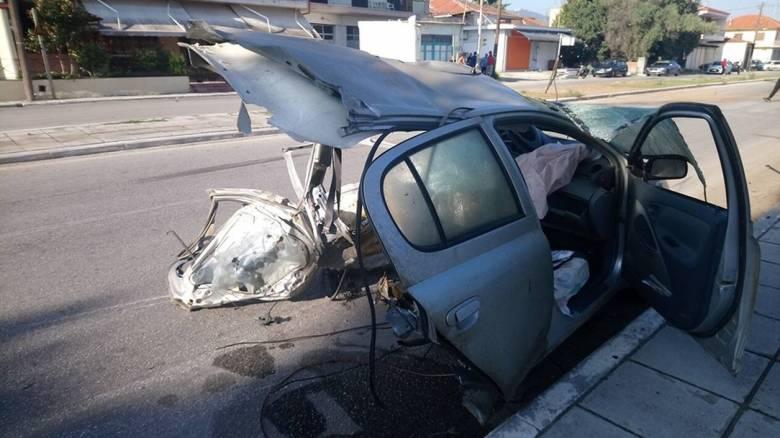 Θεσσαλονίκη: Σοβαρό τροχαίο με έναν νεκρό - Σοκαριστικές εικόνες