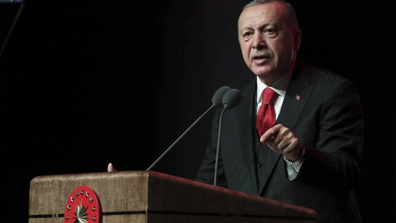 Ερντογάν: «Όταν ξυπνούν το γίγαντα, θα υποστούν και τις συνέπειες»