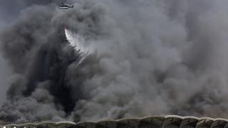 Σαουδική Αραβία: Τεράστια πυρκαγιά σε σιδηροδρομικό σταθμό - Πέντε τραυματίες