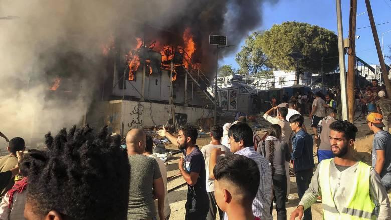 Εκρηκτική η κατάσταση στη Μόρια μετά την τραγωδία της Κυριακής