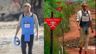 Πρίγκιπας Χάρι: Στα βήματα της Νταϊάνα, στα ναρκοπέδια της Αγκόλα - Η Νταϊάνα φοβόταν μην σκοτωθεί