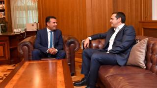 Κοινό μήνυμα Τσίπρα - Ζάεφ σε Ευρώπη για έναρξη ενταξιακών διαπραγματεύσεων της Βόρειας Μακεδονίας