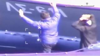 Καρέ - καρέ η καταδίωξη σκάφους που έκρυψε ένα τόνο κάνναβη σε σπηλιά
