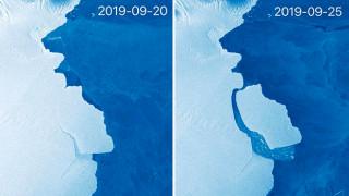 Ανταρκτική: Αποκολλήθηκε τεράστιο παγόβουνο 315 δισεκατομμυρίων τόνων