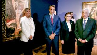 Παυλόπουλος: Εγκαινίασε το νέο Μουσείο Σύγχρονης Τέχνης Γουλανδρή στο Παγκράτι
