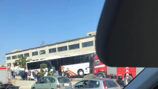 Επιβάτης περιγράφει τη στιγμή του τροχαίου με ΚΤΕΛ στη Θεσσαλονίκη