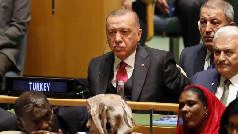 Ερντογάν: Μας ενδιαφέρει κάθε σπιθαμή του Αιγαίου και της Μεσογείου