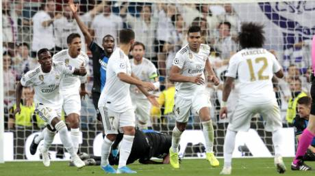 Champions League: Γλίτωσε την Ρεάλ Μαδρίτης ο Κασεμίρο, μεγάλο διπλό για Σαχτάρ