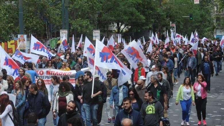 Απεργία: Συγκεντρώσεις και πορείες σε Αθήνα και Θεσσαλονίκη