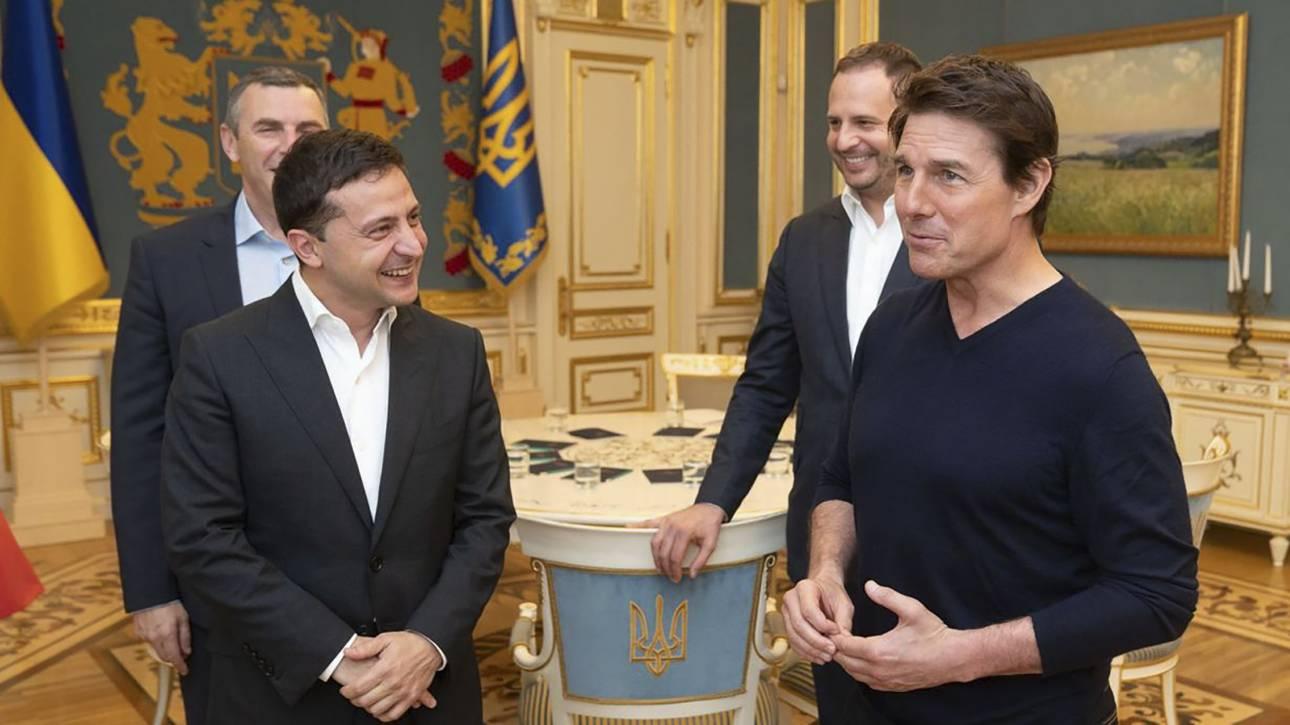 Μια συζήτηση μεταξύ... συναδέλφων: Με τον Ζελένσκι συναντήθηκε ο Κρουζ