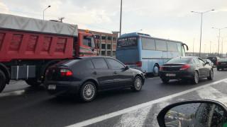 Κακοκαιρία: Κυκλοφοριακό κομφούζιο στους δρόμους της Αθήνας