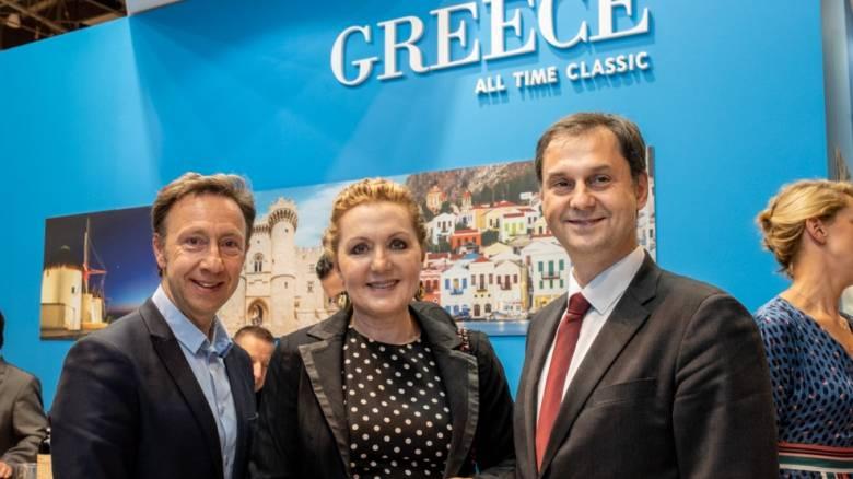 Ισχυρό ενδιαφέρον για Ελλάδα στη Διεθνή Έκθεση Τουρισμού στο Παρίσι