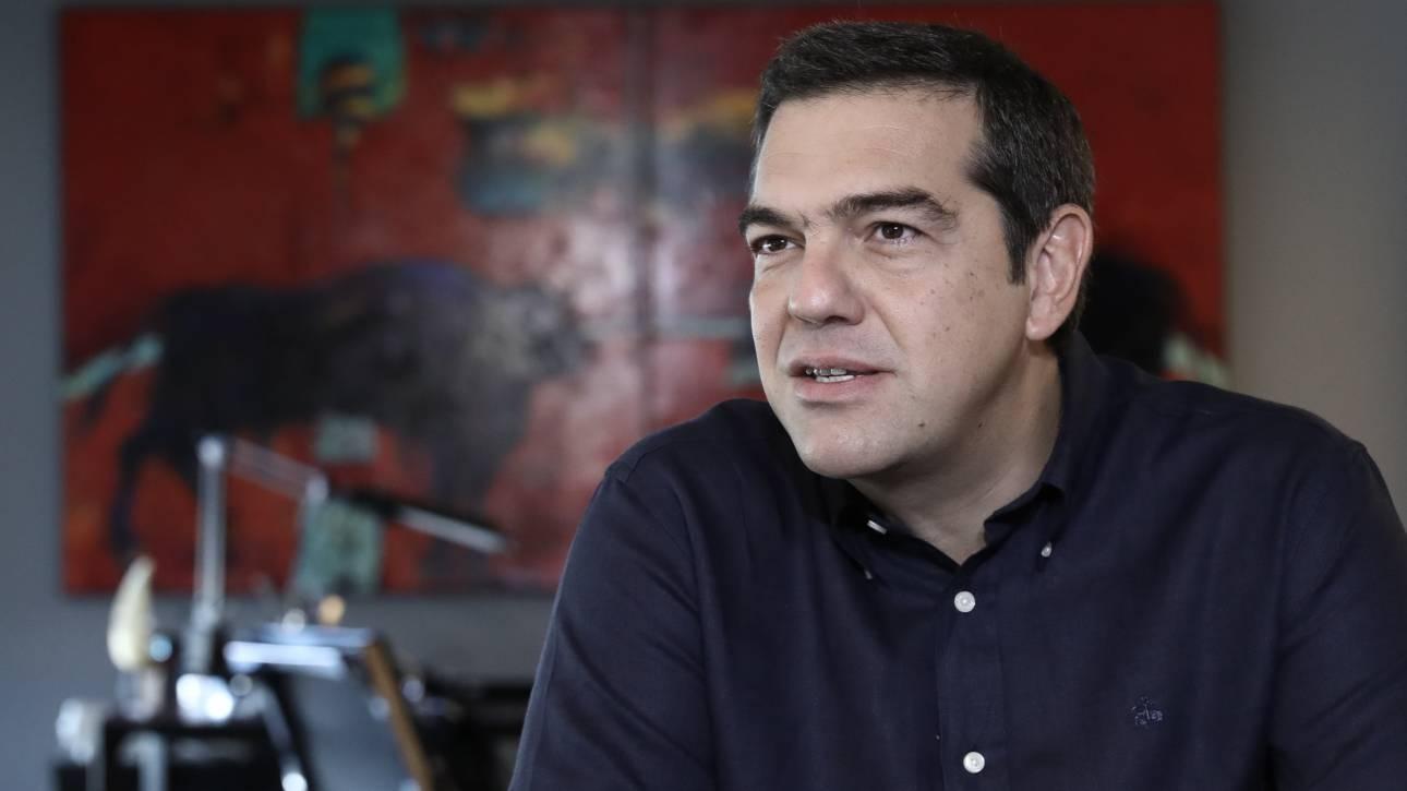 Έκκληση Τσίπρα προς την Ε.Ε. για εκκίνηση συνομιλιών για την ένταξη της Βόρειας Μακεδονίας