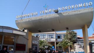 Θεσσαλονίκη: Έπεσε το ταβάνι γραφείου στο Ιπποκράτειο νοσοκομείο