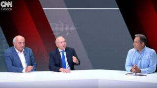 Αντιλογίες: Γιάννης Αμανατίδης και Στέφανος Γκίκας στο στούντιο του CNN Greece