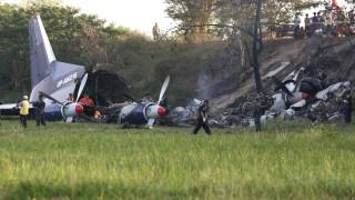 Ουκρανία: Συντριβή στρατιωτικού αεροσκάφους με πέντε νεκρούς