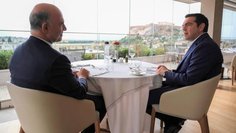 Για τις οικονομικές και πολιτικές εξελίξεις στην Ευρώπη συζήτησαν Τσίπρας-Μοσκοβισί