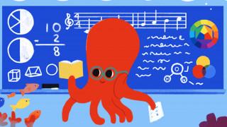 Στην Ημέρα των Εκπαιδευτικών είναι αφιερωμένο το σημερινό doodle της Google
