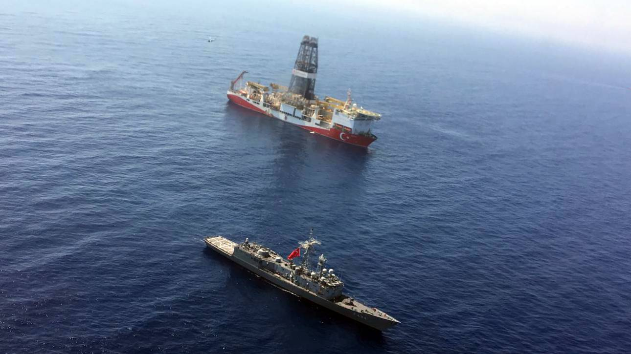 «Παράνομες οι γεωτρήσεις»: Διεθνείς αντιδράσεις για τις ενέργειες της Άγκυρας στην κυπριακή ΑΟΖ