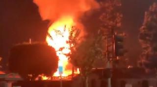Πανικός στο Oktoberfest: Μεγάλη φωτιά μετά από διαδοχικές εκρήξεις