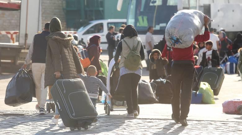 Προχωρά το πρόγραμμα αποσυμφόρησης - Αναχωρούν 570 άνθρωποι από τη Μόρια