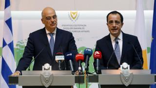 Ηχηρό μήνυμα Δένδια: Η Κύπρος δεν είναι μόνη απέναντι στις τουρκικές προκλήσεις