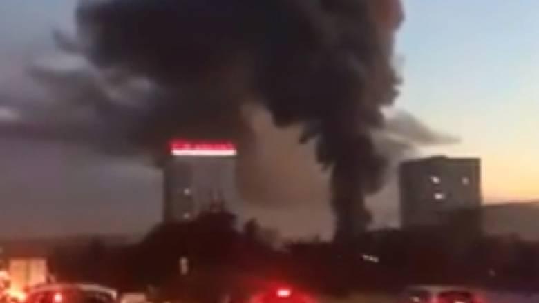 Γαλλία: Μεγάλη φωτιά σε αποθήκη στη Λυών