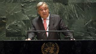 Γκουτέρες: Στο «κόκκινο» τα ταμεία του ΟΗΕ - Μέτρα για την καταβολή μισθών ως το τέλος του έτους