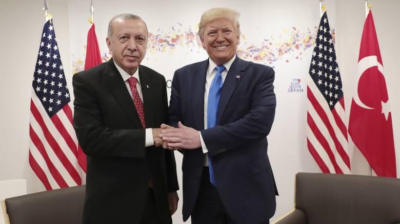 Την επίσκεψη Ερντογάν στις ΗΠΑ ανακοίνωσε ο Τραμπ - Πότε θα γίνει το κρίσιμο ραντεβού