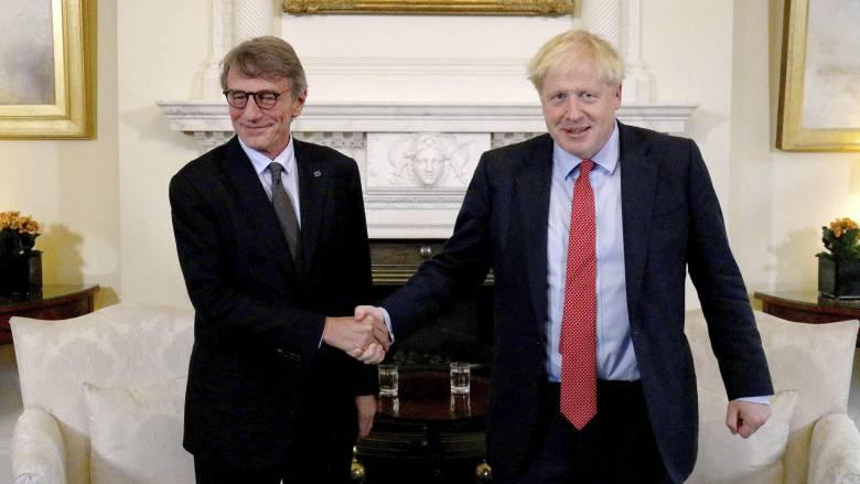 «Αναβολή ή άτακτο Brexit»: Άκαρπες οι συνομιλίες Τζόνσον με τον πρόεδρο του Ευρωκοινοβουλίου