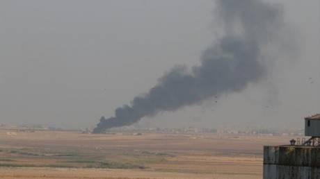 Οι πρώτες εικόνες από την τουρκική επίθεση στη Συρία