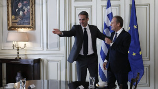 Brexit, μεταναστευτικό και τουρκική προκλητικότητα στην ατζέντα Τουσκ - Μητσοτάκη