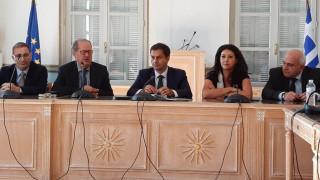 Επίσκεψη του υπουργού Τουρισμού Χάρη Θεοχάρη στην Τρίπολη