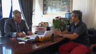 Χρήστος Στάθης:  Τα αντιπλημμυρικά στην Μάνδρα βρίσκονται στο 85% της ολοκλήρωσης τους