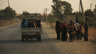 Τουρκική εισβολή Συρία: Κύμα φυγής από τα βορειοανατολικά της χώρας