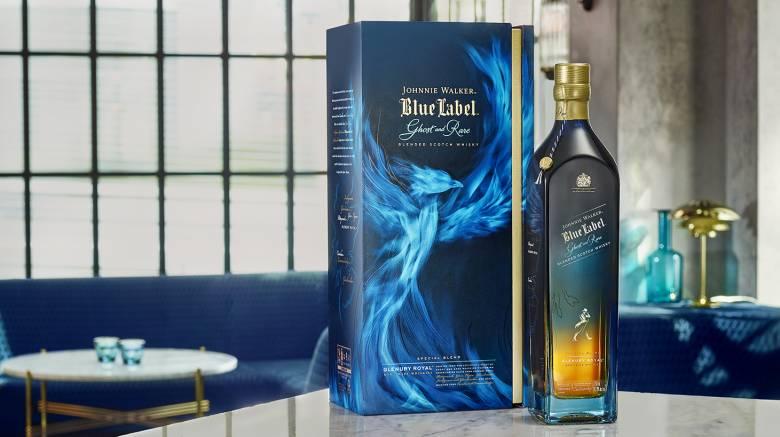 Johnnie Walker Blue Label Ghost and Rare Glenury Royal: Μια έκδοση από εξαιρετικά σπάνια ουίσκι