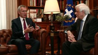 Παυλόπουλος σε Στόλτενμπεργκ: Αυθαίρετες και επικίνδυνες οι επιχειρήσεις της Τουρκίας στη Συρία