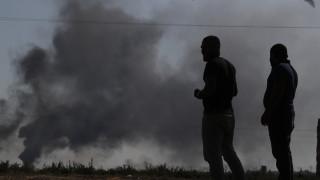 Τουρκική εισβολή Συρία: Εκκενώνεται καταυλισμός εκτοπισμένων Σύρων μετά από βομβαρδισμούς