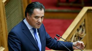 Γεωργιάδης: Απαντά στην κριτική για τον αναπτυξιακό νόμο - Σκληρή επίθεση κατά ΣΥΡΙΖΑ