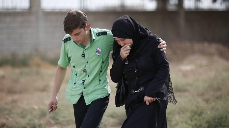 Τουρκική εισβολή στη Συρία: 191.069 άνθρωποι εγκατέλειψαν τα σπίτια τους