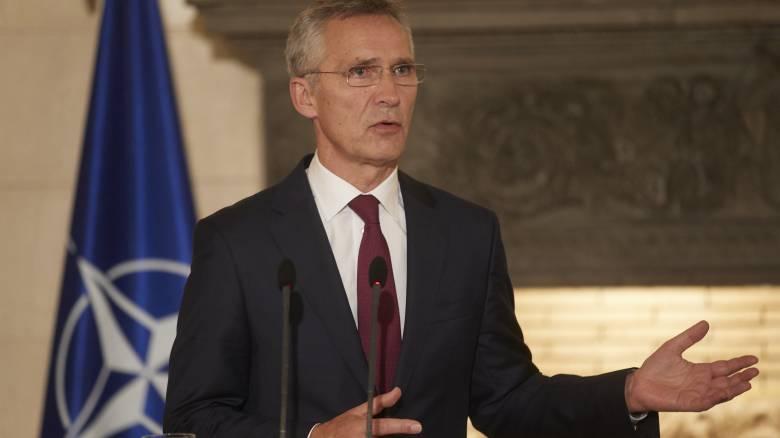 Στόλτενμπεργκ: Το ΝΑΤΟ περιμένει πάντα από όλα τα κράτη να σέβονται το διεθνές δίκαιο
