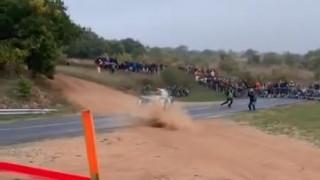 Γαλλία: Οδηγός έχασε τον έλεγχο του αυτοκινήτου σε αγώνα ράλι και παρέσυρε θεατές