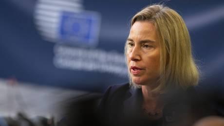 Μογκερίνι: Κοινό ευρωπαϊκό μέτωπο κατά Τουρκίας για Συρία και κυπριακή ΑΟΖ